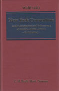 Cover of New York Convention on the Recognition and Enforcement of Foreign Arbitral Awards: A Commentary