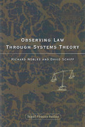 Cover of Observing Law through Systems Theory