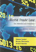 Cover of World Trade Law: Text, Materials and Commentary