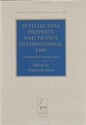 Cover of Intellectual Property and Private International Law: Comparative Perspectives