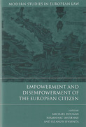 Cover of Empowerment and Disempowerment of the European Citizen