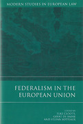 Cover of Federalism in the European Union