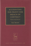 Cover of Accounting for Profit for Breach of Contract: Theory and Practice