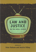 Cover of Law and Justice on the Small Screen