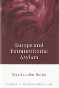 Cover of Europe and Extraterritorial Asylum