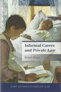 Cover of Informal Carers and Private Law