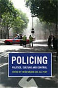 Cover of Policing: Politics, Culture and Control