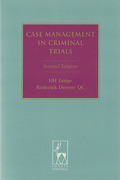 Cover of Case Management in Criminal Trials 2nd ed