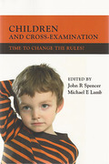 Cover of Children and Cross-Examination: Time to Change the Rules?