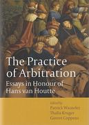 Cover of The Practice of Arbitration: Essays in Honour of Hans Van Houtte