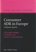 Cover of Consumer ADR in Europe