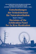 Cover of Decisions of the Arbitration Panel for In Rem Restitution: Volume 5