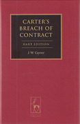 Cover of Carter's Breach of Contract (Hart Edition)