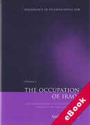 Cover of Occupation of Iraq Volume 2: The Official Documents of the Coalition Provisional Authority and the Iraqi Governing Council (eBook)