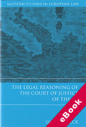 Cover of The Legal Reasoning of the Court of Justice of the EU (eBook)