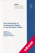 Cover of Protection of Fundamental Rights in the EU After Lisbon (eBook)
