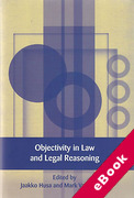 Cover of Objectivity in Law and Legal Reasoning (eBook)