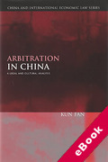 Cover of Arbitration in China: A Legal and Cultural Analysis (eBook)