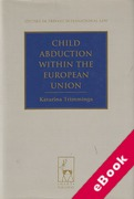 Cover of Child Abduction within the European Union (eBook)