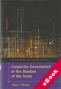 Cover of Corporate Governance in the Shadow of the State (eBook)
