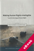 Cover of Making Human Rights Intelligible: Towards a Sociology of Human Rights (eBook)
