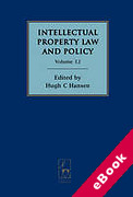 Cover of Intellectual Property Law and Policy: Volume 12 (eBook)