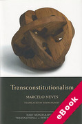 Cover of Transconstitutionalism (eBook)