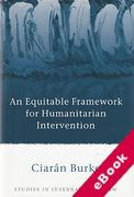Cover of An Equitable Framework for Humanitarian Intervention (eBook)