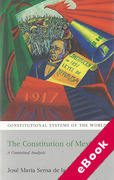 Cover of Constitution of Mexico: A Contextual Analysis (eBook)