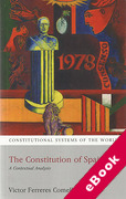 Cover of The Constitution of Spain: A Contextual Analysis (eBook)