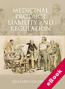 Cover of Medicinal Product Liability and Regulation (eBook)