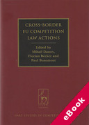 Cover of Cross-Border EU Competition Law Actions (eBook)
