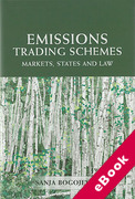 Cover of Emissions Trading Schemes: Markets, States and Law (eBook)