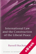 Cover of International Law and the Construction of the Liberal Peace (eBook)