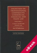 Cover of Dalhuisen on Transnational and Comparative Commercial, Financial and Trade Law: Volume 2  Contract and Movable Property Law (eBook)