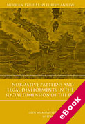 Cover of Normative Patterns and Legal Developments in the Social Dimension of the EU (eBook)
