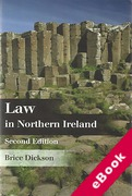 Cover of Law in Northern Ireland (eBook)