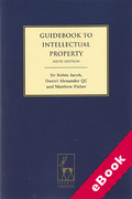 Cover of A Guidebook to Intellectual Property (eBook)