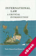 Cover of International Law: A Critical Introduction (eBook)