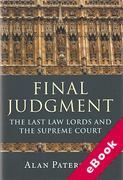 Cover of Final Judgment: The Last Law Lords and the Supreme Court (eBook)