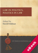 Cover of Law in Politics, Politics in Law (eBook)