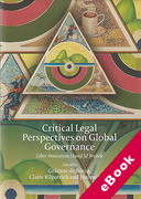 Cover of Critical Legal Perspectives on Global Governance: Liber Amicorum David M. Trubek (eBook)