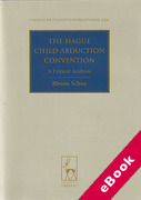 Cover of The Hague Child Abduction Convention: A Critical Analysis (eBook)