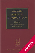 Cover of Iniuria and the Common Law (eBook)