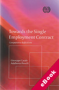 Cover of Towards the Single Employment Contract (eBook)