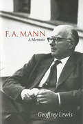 Cover of F. A. Mann: A Memoir (eBook)