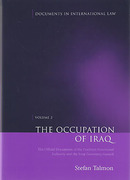 Cover of Occupation of Iraq Volume 2: The Official Documents of the Coalition Provisional Authority and the Iraqi Governing Council