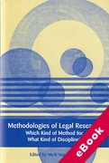 Cover of Methodologies of Legal Research: Which Kind of Method for What Kind of Discipline? (eBook)