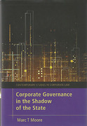 Cover of Corporate Governance in the Shadow of the State