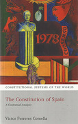 Cover of The Constitution of Spain: A Contextual Analysis